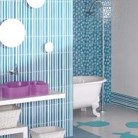 Pamesa spanyol csempe, padlólap Agatha fürdőszoba csempe