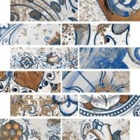 Mosaico castiglione 30x30 cm  12x12 in   HVG Vignoni